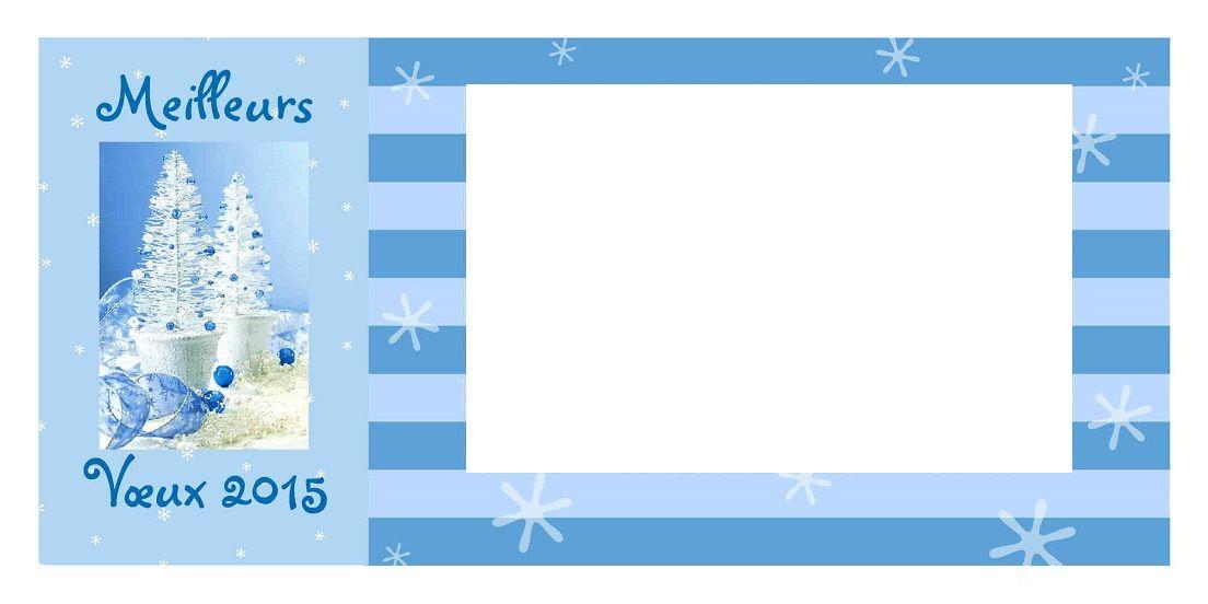 cartes de vœux 2015 personnalisées avec une photo à imprimer
