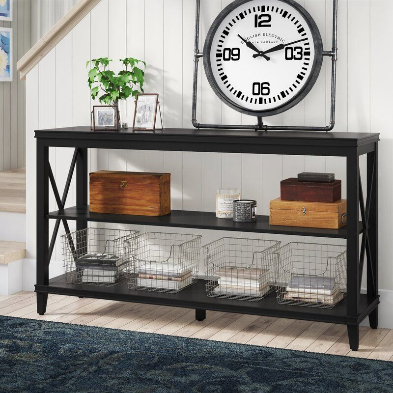 """Kittridge 54"""" Solid Wood Console Table 