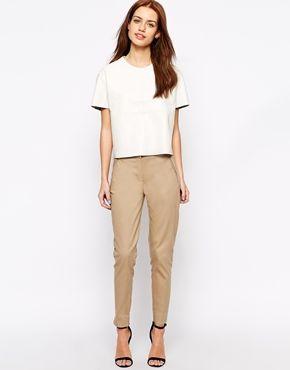 New Look Crop Slim Leg Pant