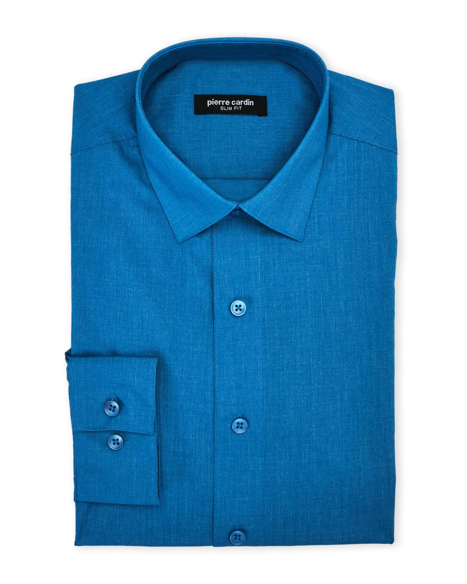 Bright Teal Slim Fit Dress Shirt In 2018 Apparel Accessories