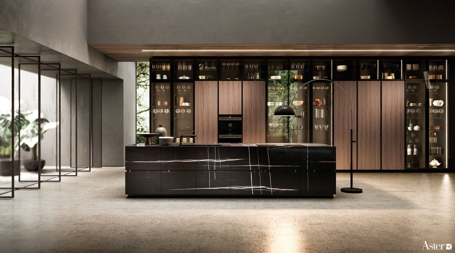 Contempora By Aster Cucine The Contemporaneity And Internationality Of Being Made In Italy Modern Kitchen Design Contemporary Kitchen Design Modern Kitchen
