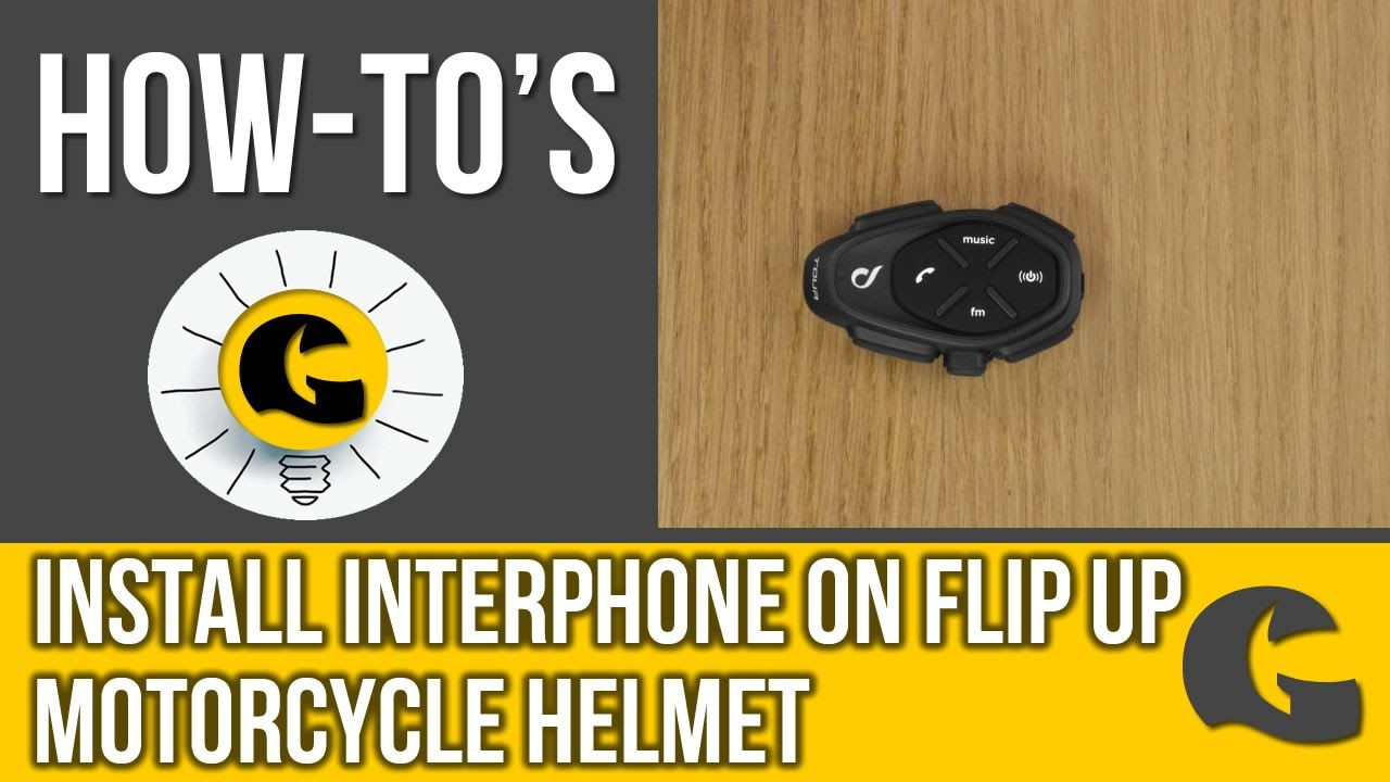 HowTo install the Interphone on a flipup