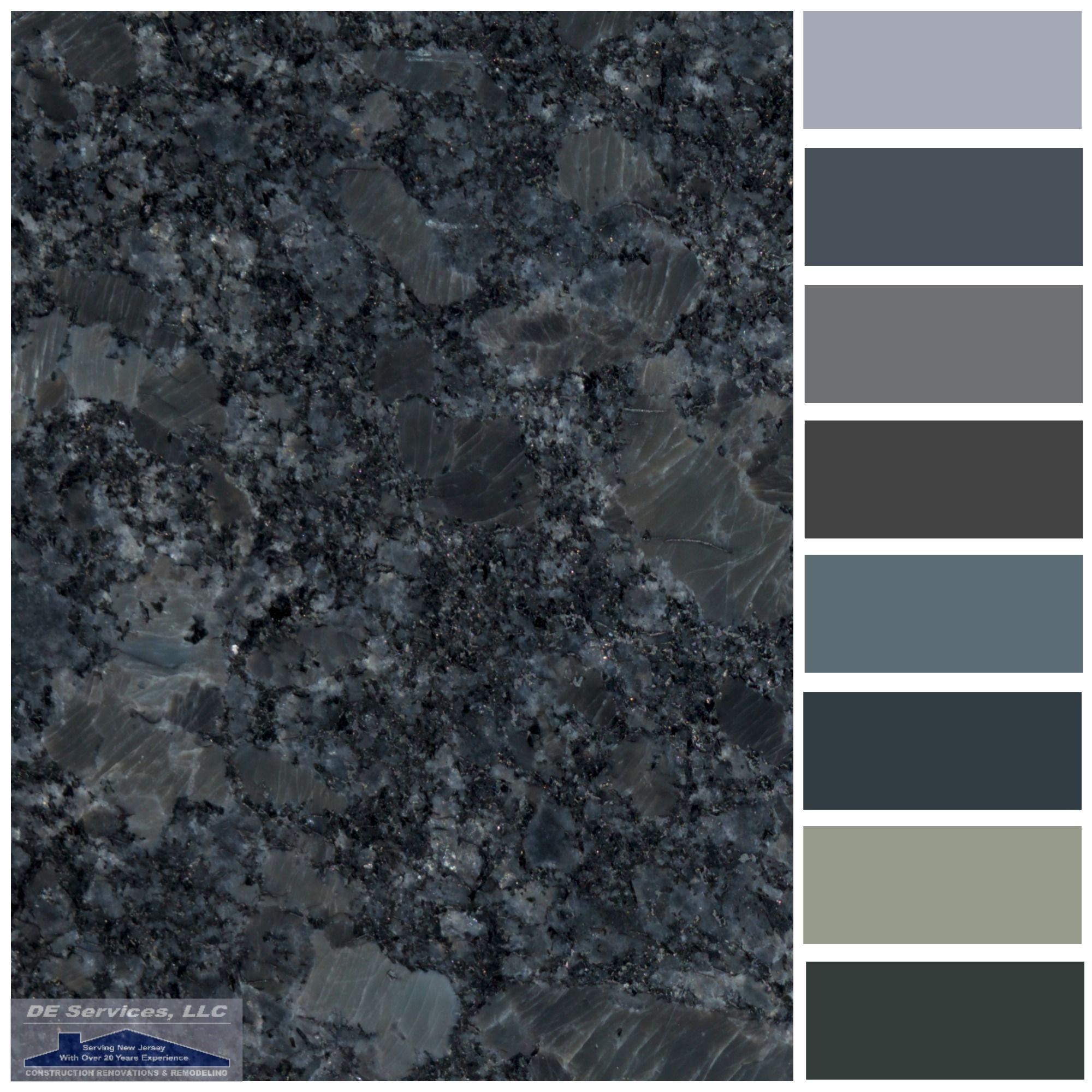 Steel Grey Granite | DE Color Palettes | Pinterest | Granite ...