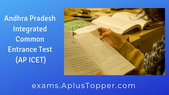 AP ICET 2019 | Exam, Application Form, Eligibility and Merit