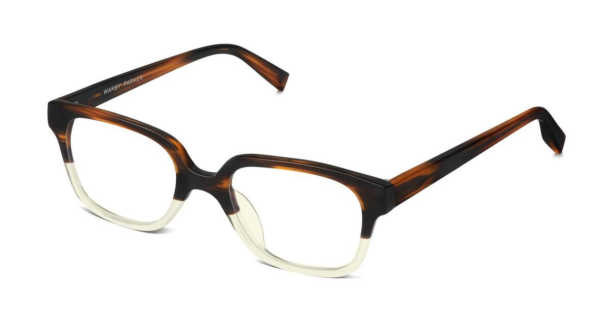 5d9698f0b5c Vence is a studious silhouette with square frames and tapered temple arms.