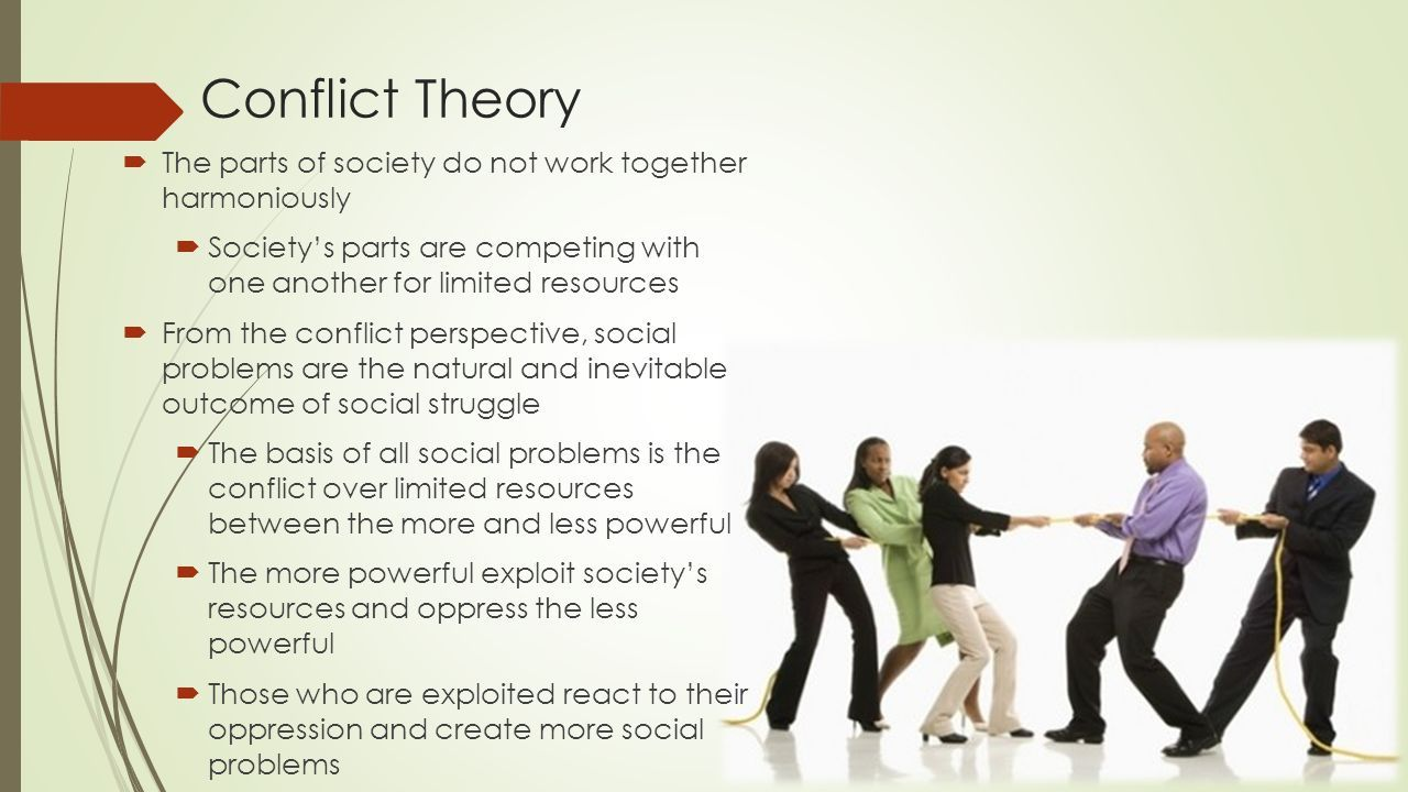 conflict theory and social theory essay Conflict theory essay - select the service, and our professional writers will do your assignment supremely well diversify the way you do your task with our approved service begin working on your dissertation right now with top.