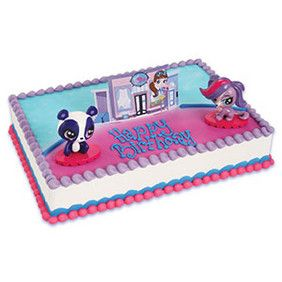 DecoPac Littlest Pet Shop Zoe Penny Cake Kit cakes Pinterest