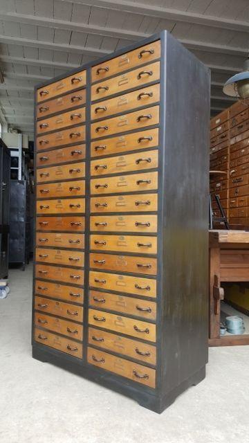 xl loft industrie design apothekerschrank schubladenschrank werkzeugschrank in antiquit ten. Black Bedroom Furniture Sets. Home Design Ideas