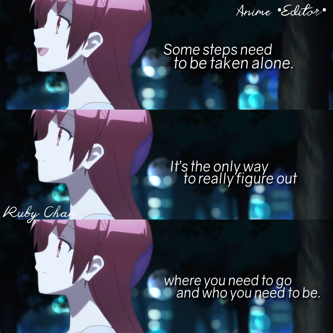 Anime: TONIKAWA: Fly Me to the Moon  Japanese quotes, Special