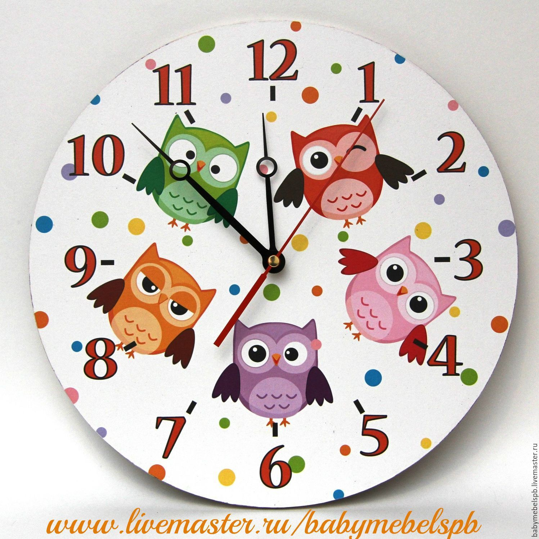 """Купить Часы """" - детские часы, часы, для детей, интерьер, дерево, декор детской"""