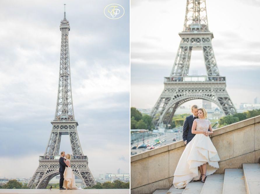 Wedding Eiffel Tower Paris Jpg 892 666 Pixels