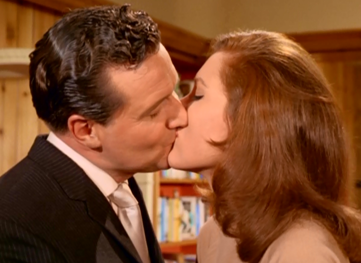 Macnee as John Steed And Diana Rigg as Emma Peel