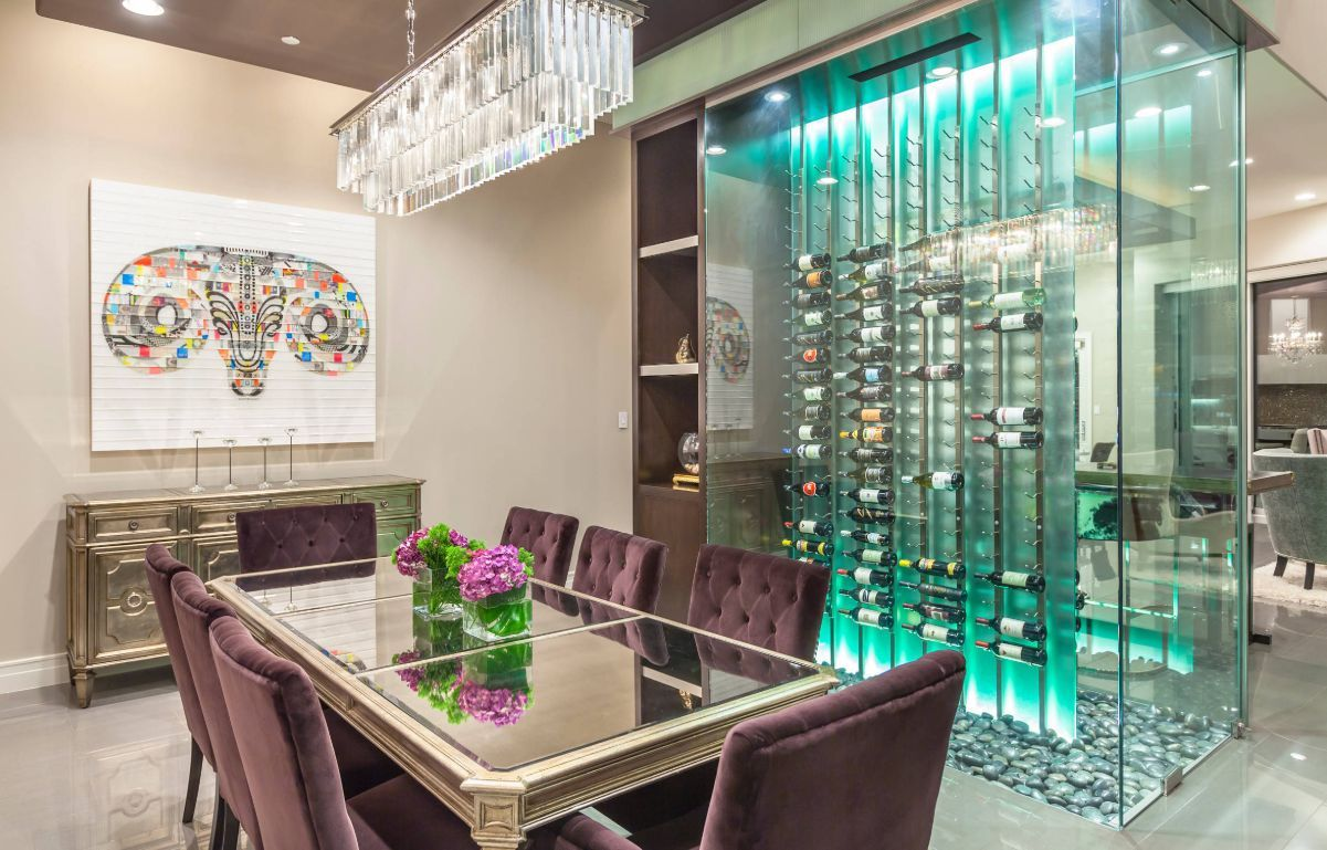The Best Wine Rack Tables For Small And Quirky Spaces With Images Wine Room Beautiful Dining Rooms Wine Rack Table