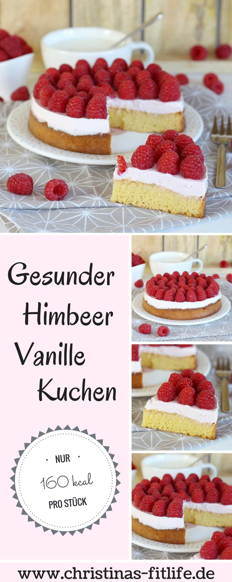ᐅ Gesunder Himbeer Vanille Kuchen I Rezepte By Christina
