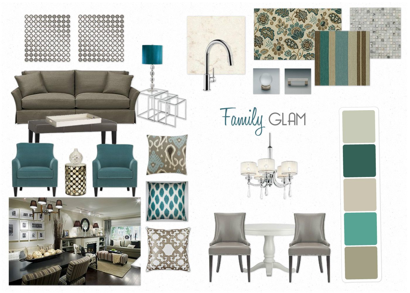 Rustic Glam Master Bedroom Family Glam The ReStyle