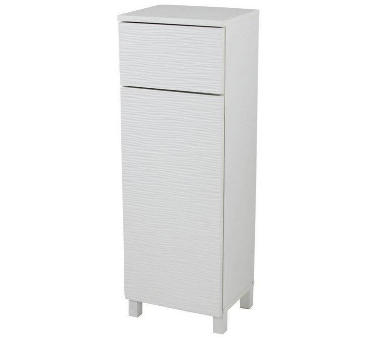 Buy Argos Home Ripple Bathroom Floor Cabinet White Bathroom