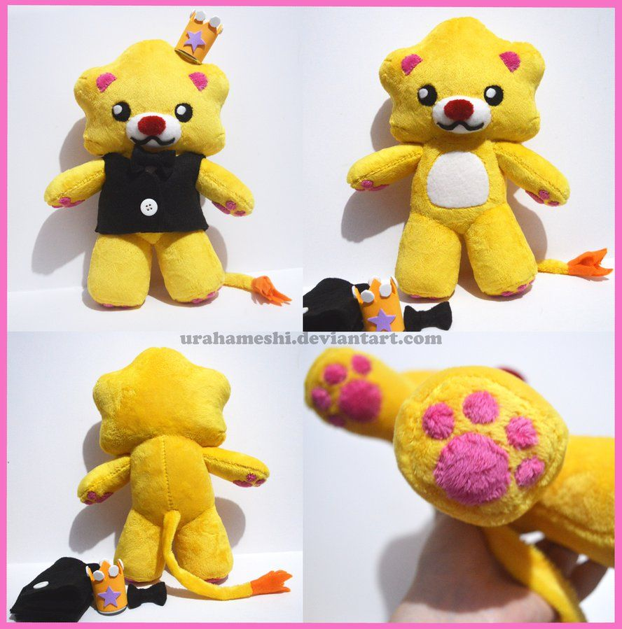 Ha-re-yon-kun Plush by UraHameshi.deviantart.com on @DeviantArt