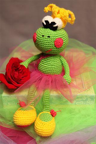 Amigurumi Balerin Kurbağa Yapımı Tarifi #amigurumimodelleri