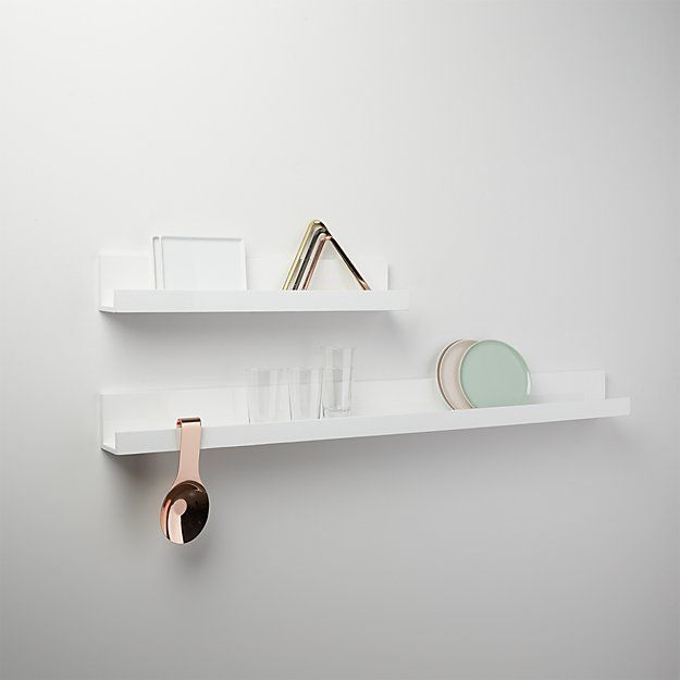 Piano White Wall Shelf 24 Reviews White Wall Shelves Wall
