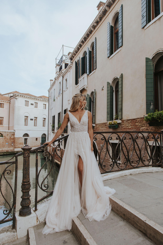 Bhldn Written In The Stars Gown Dream Wedding Dresses Bhldn Bride Dusty Pink Bridesmaid Dresses