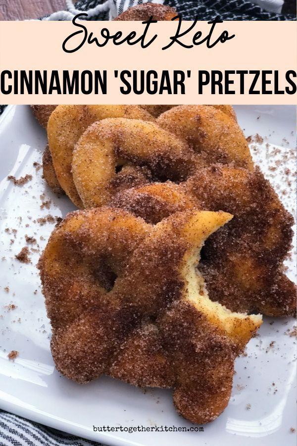 Keto Cinnamon Sugar Pretzels Recipe