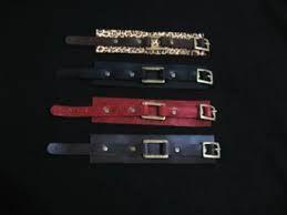 Resultado de imagen para brazaletes de cuero