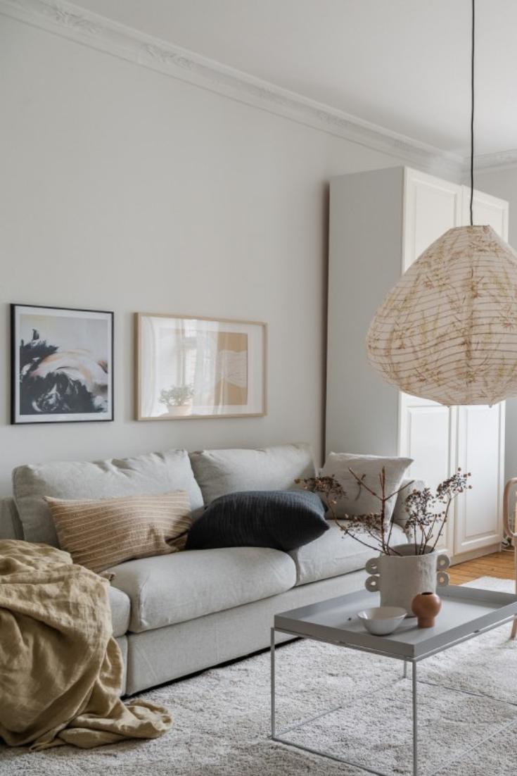 La Décoration De Salon la décoration scandinave d'un petit appartement cosy