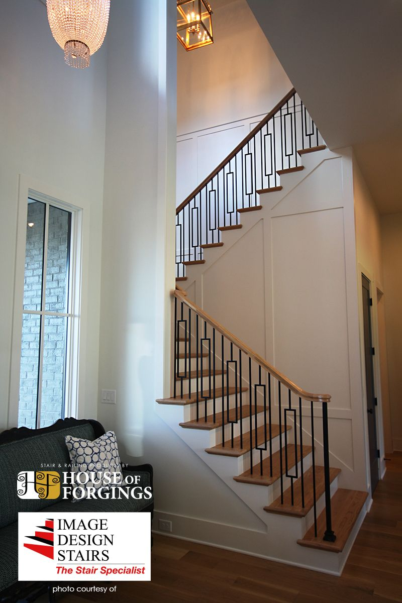 Best Iron Balusters Staircase Remodel Stair Railing Design 400 x 300