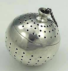 Tiffany Sterling Silver Tea Ball