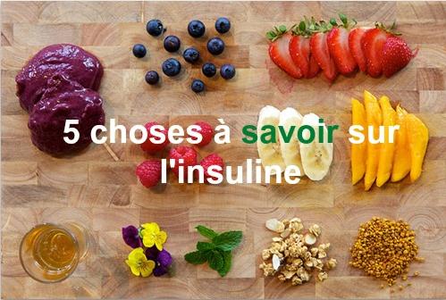 5 choses à savoir sur l'insuline | Repas d'entraînement