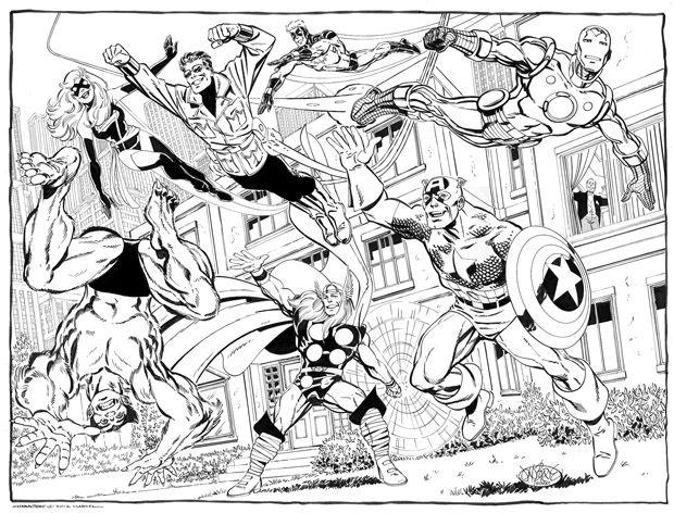 Guarda Tutti I Disegni Da Colorare Degi Avengers Www