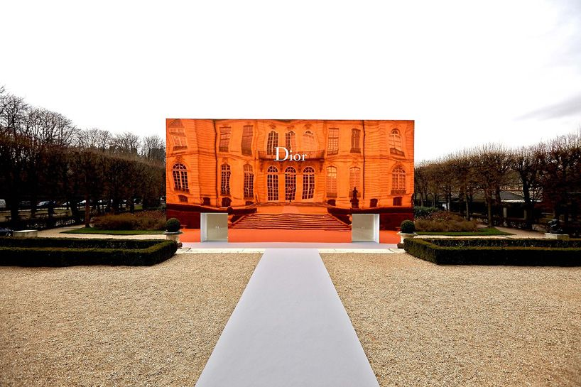 Bureau Betak Tranforms Musee Rodin Gardens For Dior Paris Show