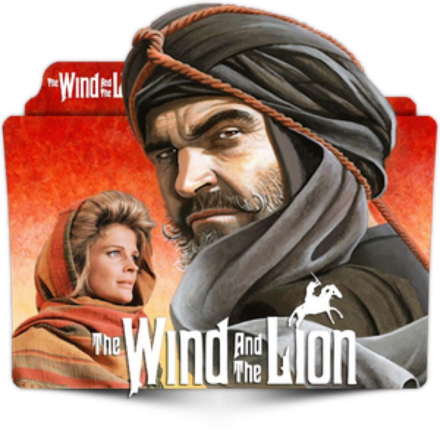 The wind and the lion Sean Connery poster print