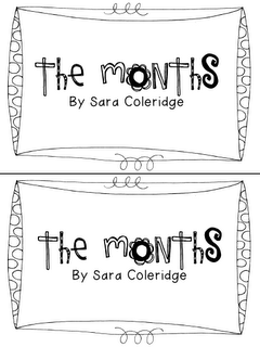 FREE calendar months poem booklets..... with links to days