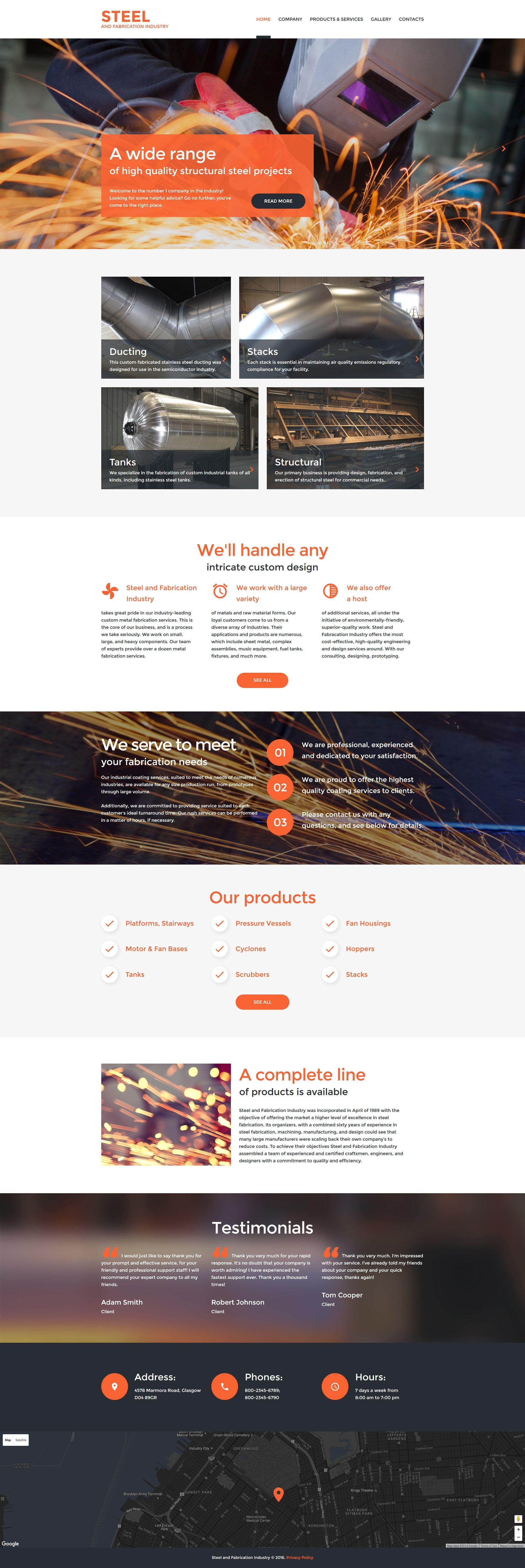 welding responsive website template new website templates
