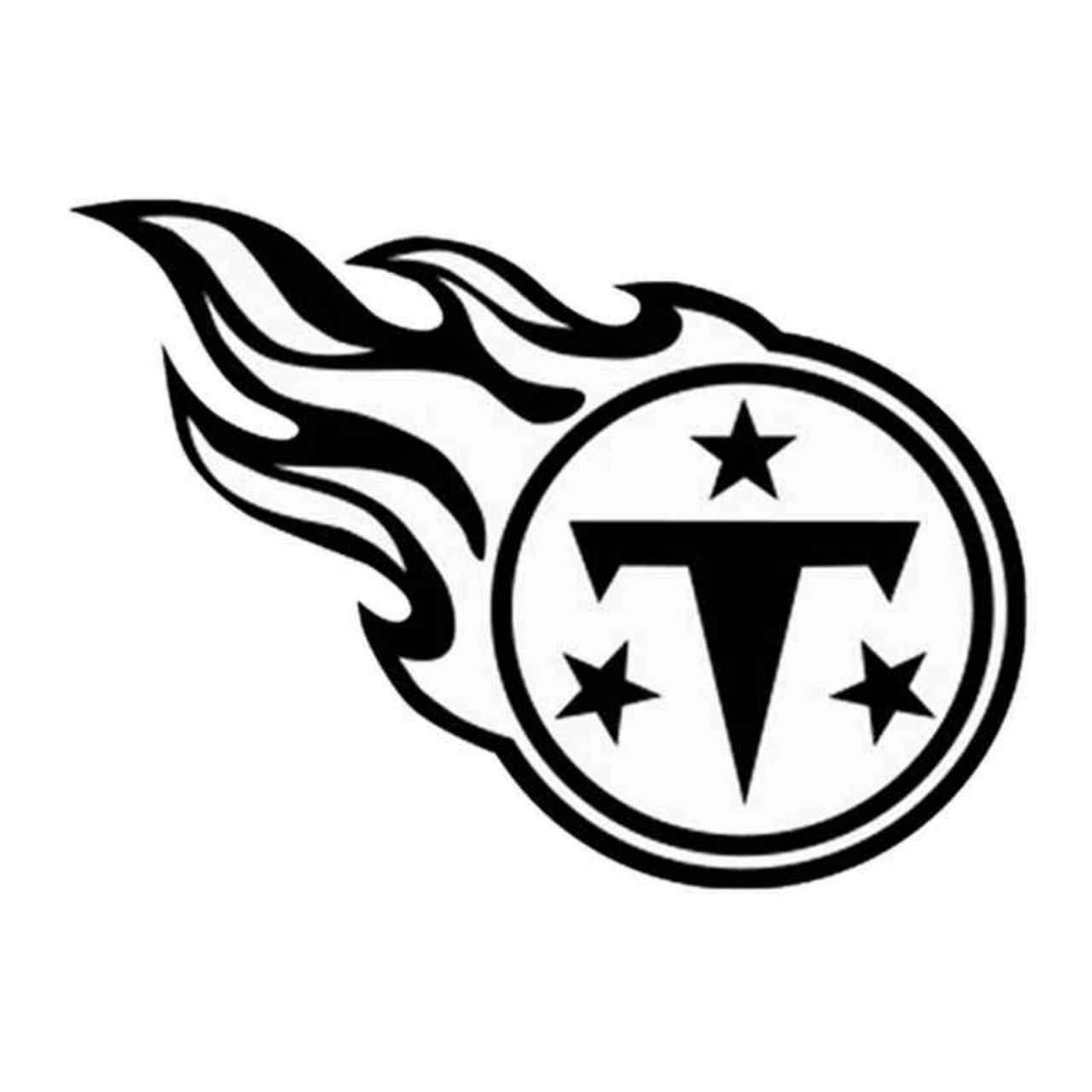 Tennessee Titans 34 Decal Sticker Ballzbeatz Com