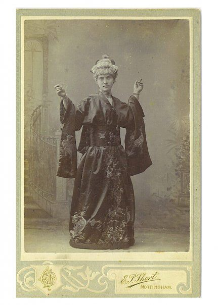 great great grandmother in madame butterfly