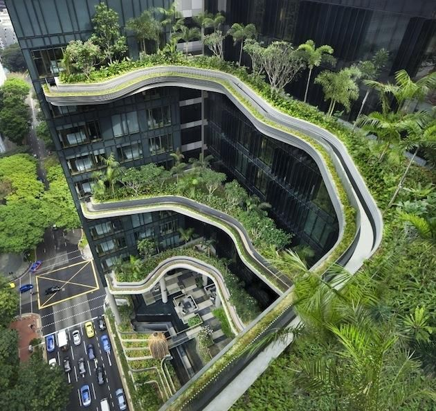 'Parkroyal on Pickering' Hotel, Singapore