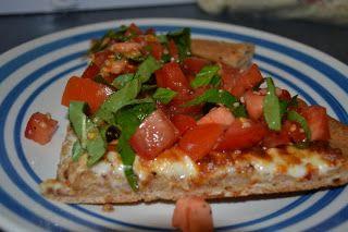 Bruschetta Pizza - Making Miracles