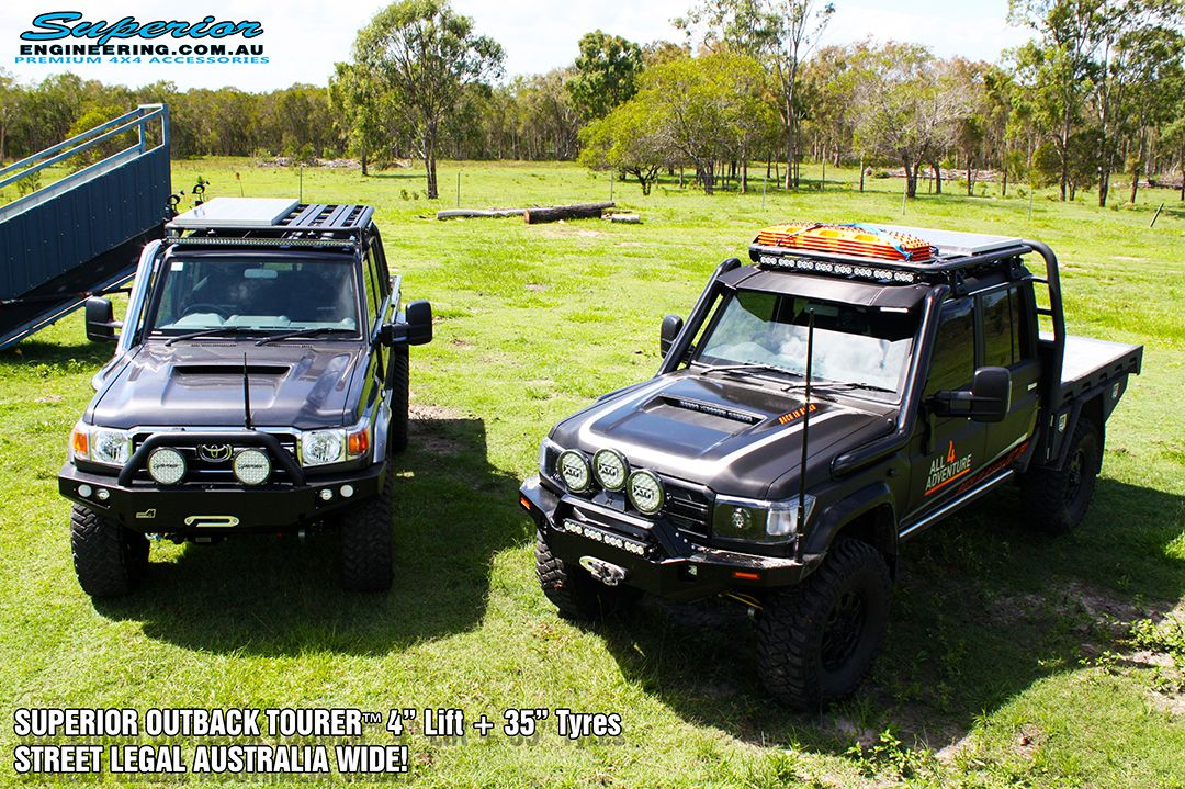 The Superior Outback Tourer Kit Can Nearly Be Installed Pre Post Rego In Most States Of Australia Qld New U Superior Engineering States Of Australia 4x4