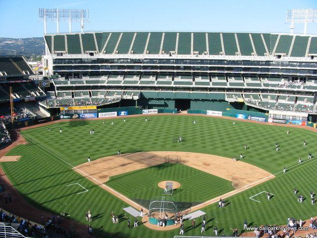 Oakland Alameda County Coliseum Oakland A S Baseball Park Baseball Stadium Alameda County