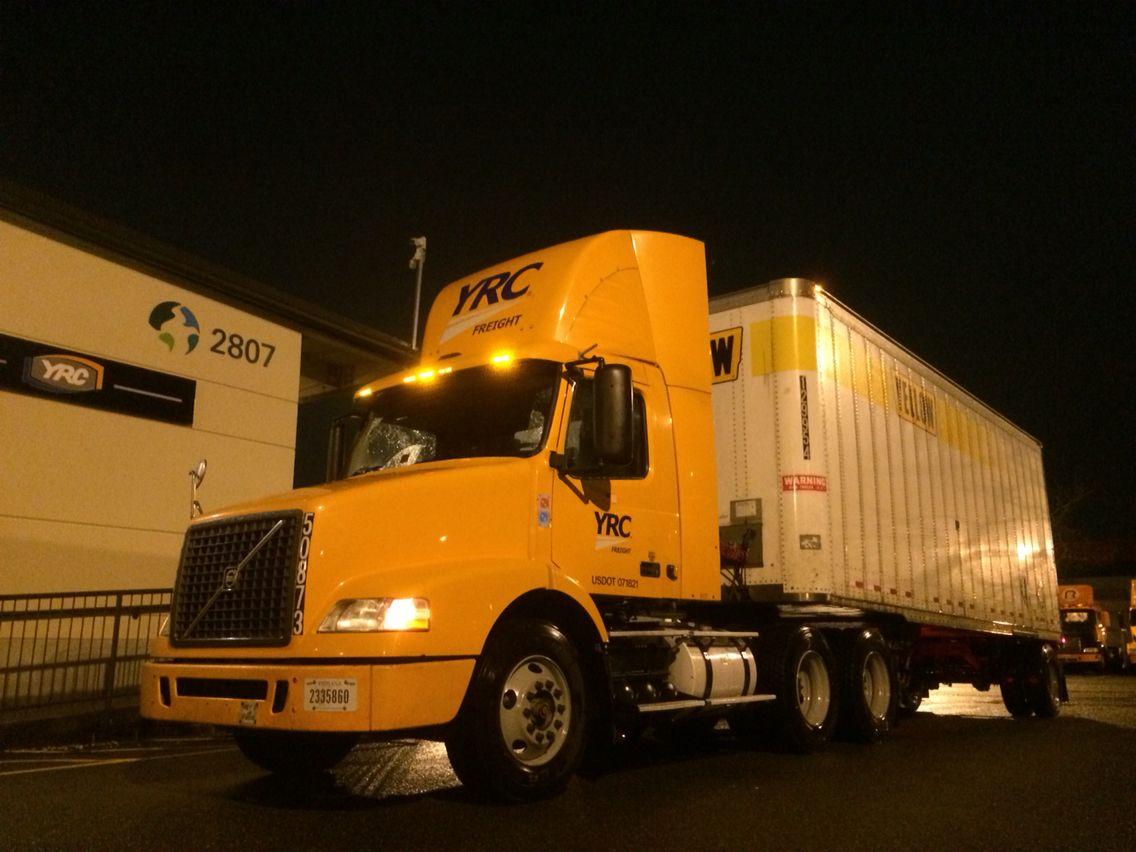 YRC Freight, Tacoma | Trucks & Trucking | Trucks, Road train