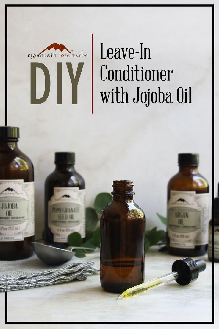 DIY Leave-in Conditioner with Jojoba & Argan Oils