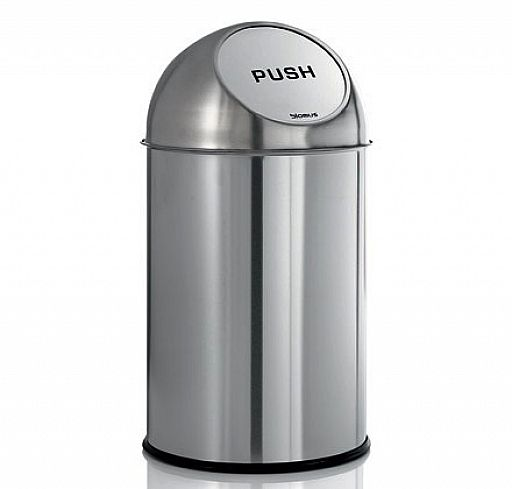 Pushman Garbage Can by Blomus | In Collaboration with ...