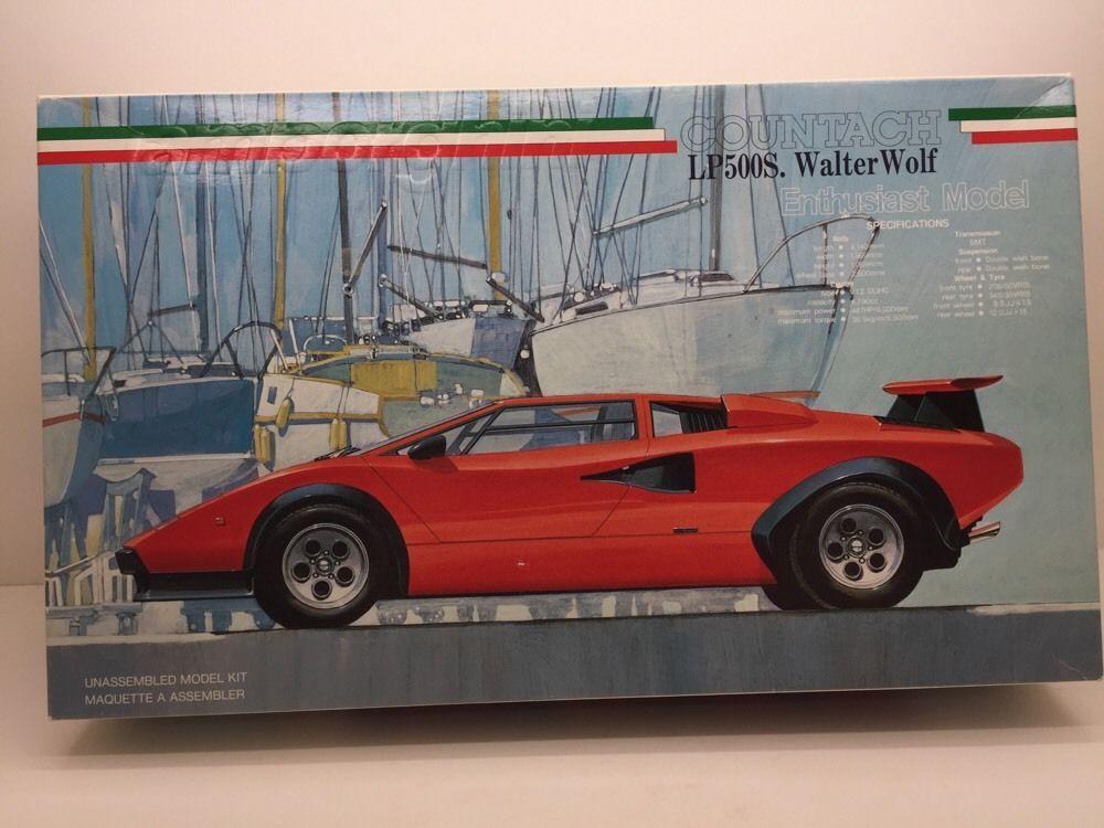 Fujimi Lamborghini Countach Lp500s Walter Wolf Enthusiast Model Kit