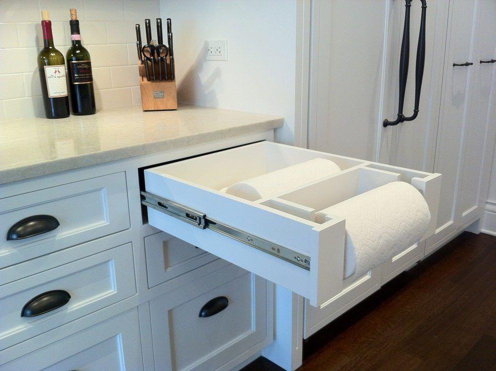 Kitchen Towel Racks For Cabinets blue paper towel holders kitchen traditional with paper towel