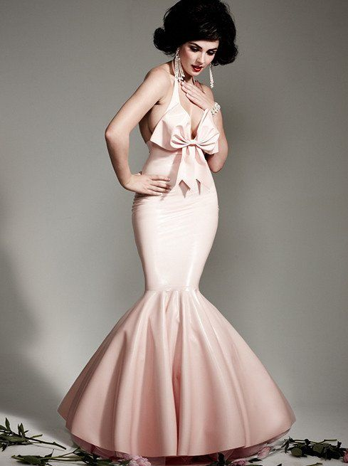 Latex Showtime Ball Gown | T.S VINTAGE | Pinterest | Ball gowns ...