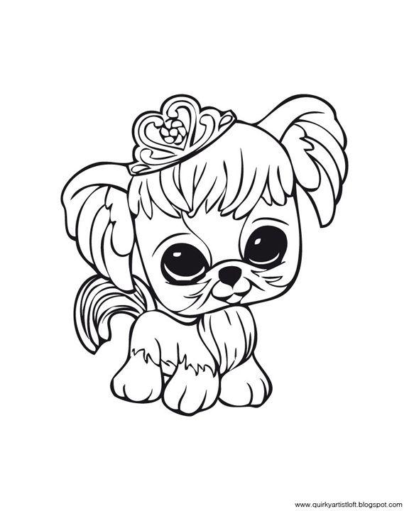 Quirky Artist Loft: Littlest Pet Shop - Free Printable Coloring Book ...