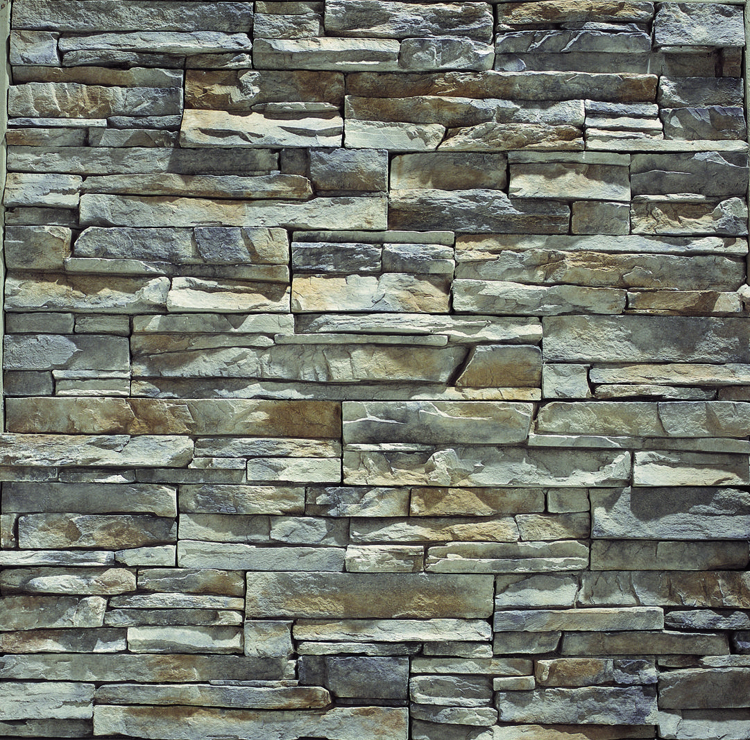 Stacked Stone Brick America Artificial Stone Wall Stacked
