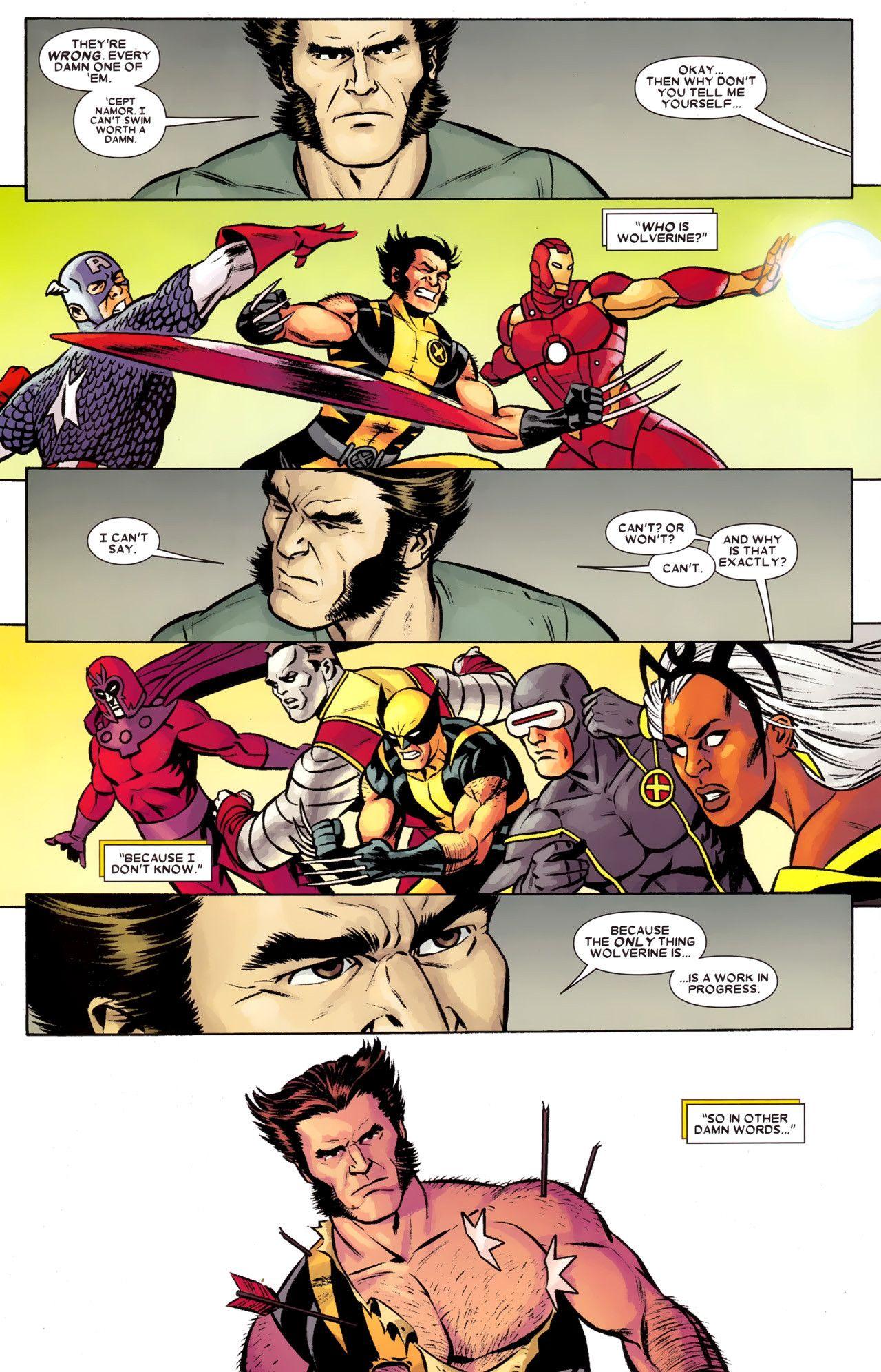 Can Wolverine Swim Superhero Comic Wolverine Comics
